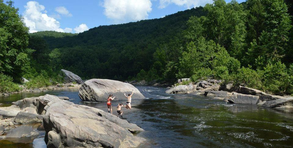 Cheat Narrows Swimming   DIY Outdoors   West Virginia University