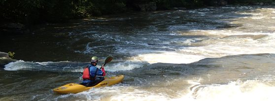 Kayaking the Upper Big Sandy