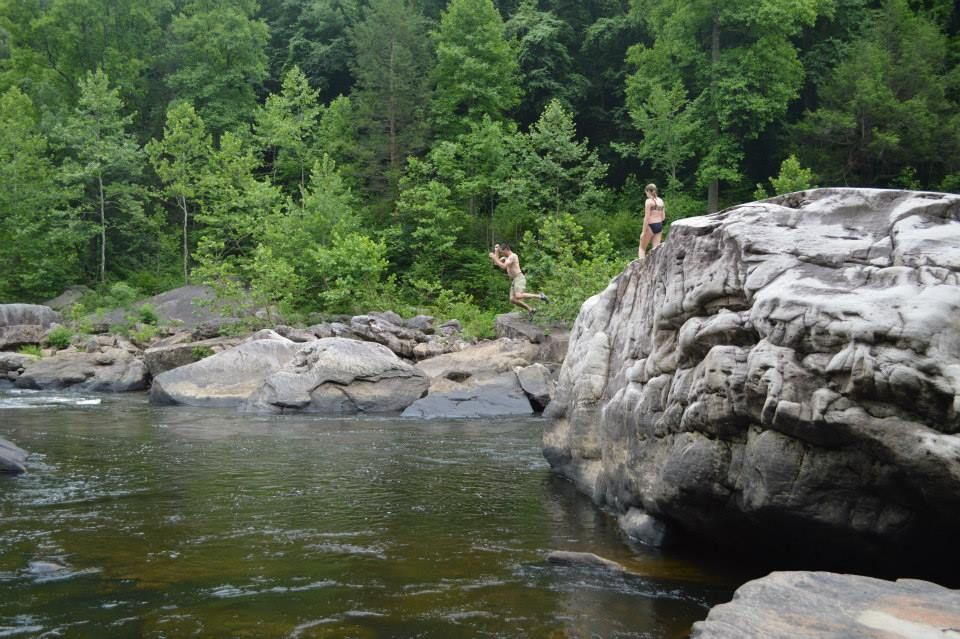 Cheat Narrows Swimming | DIY Outdoors | West Virginia University
