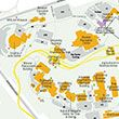 Download a map of the WVU Evansdale Campus