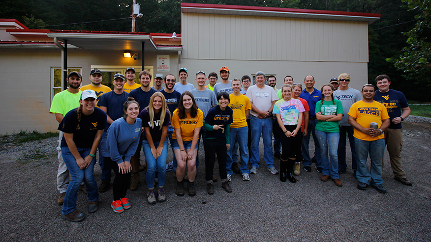 Picture of WVU's ASCE and EWB chapters