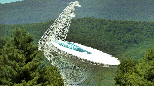 Image of Green Bank Telescope