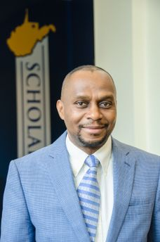 Donald Adjeroh, professor and associate chair in the Lane Department of Computer Science and Electrical Engineering