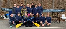 A photo of the 2019 Concrete Canoe team.