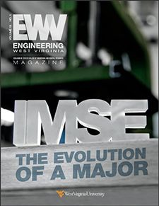 Cover of Spring 2017 Engineering WV