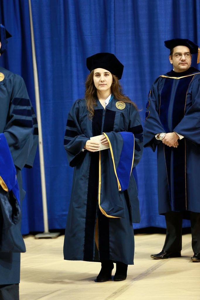 Maria Alejandra Torres Arango recently graduated from the Statler College of Engineering and Mineral Resources with a Ph.D. in materials science and engineering.