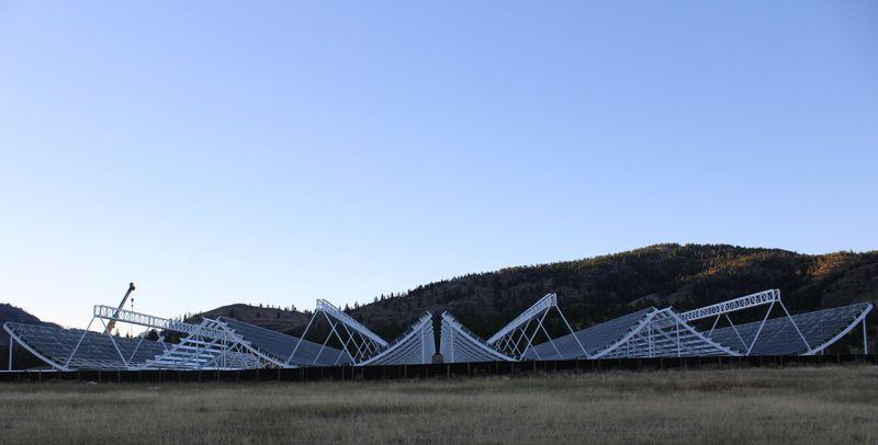 CHIME telescope in British Columbia