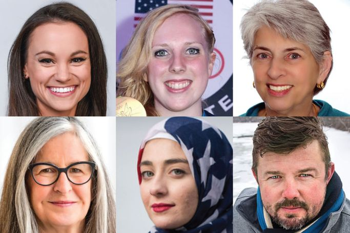 Emily Canaldrelli, Ginny Thrasher, Judith Feinberg, Ann Chester, Sara Berzingi and Daniel Brewster are among the presenters at the inaugural TEDx WVU March 2.