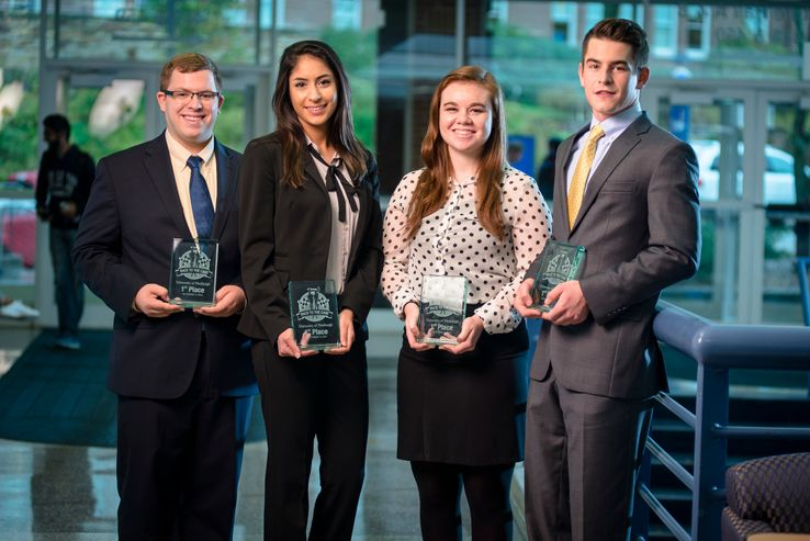 Photo of Supply Chain Competition Winners
