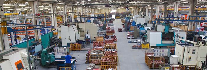 Inside View of a Warehouse