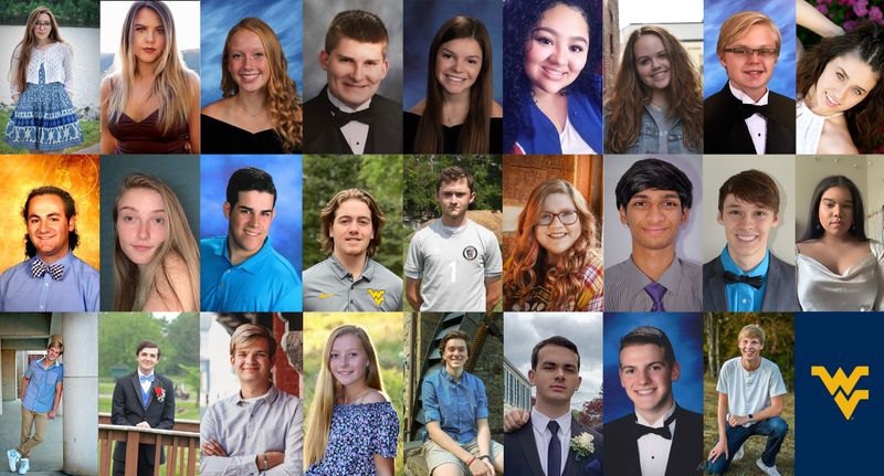 Portraits of the 26 students who received the inaugural Incoming Statler Engagement and Leadership (ISEAL) Scholarship.