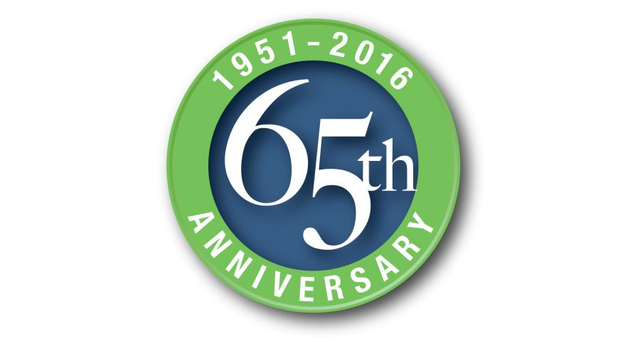 An image depicting the 65th Engineering Anniversary logo