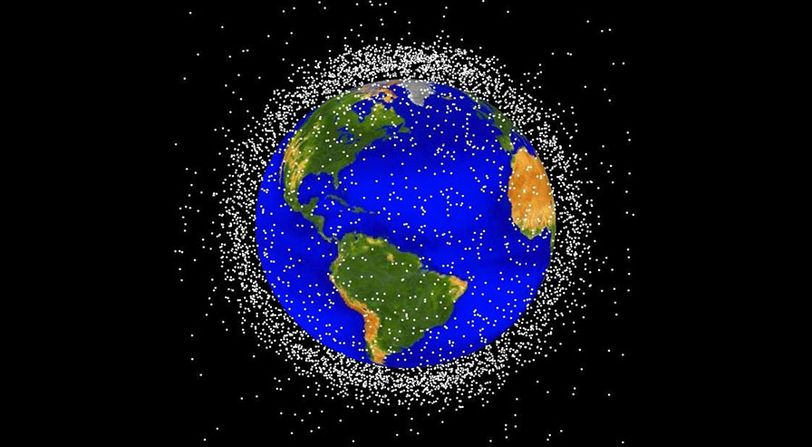 Space junk in low Earth orbit poses a critical challenge for operating spacecraft in the future.