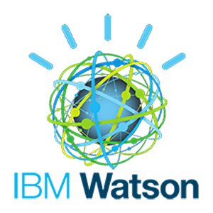 A photo of IBM Watson logo.