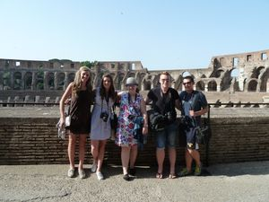 Colosseum, Rome, Italy, 2012