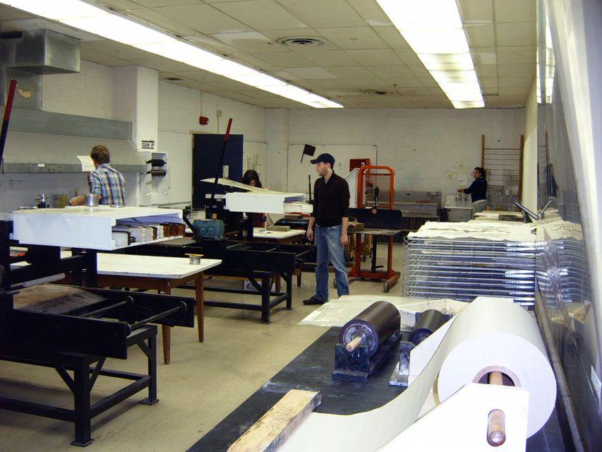 Printmaking faculty