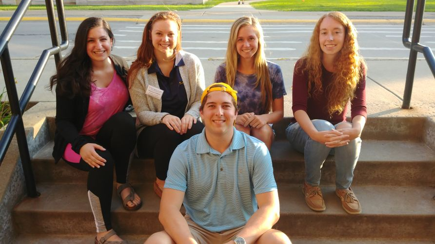 Honors Student Association officers for 2018-2019