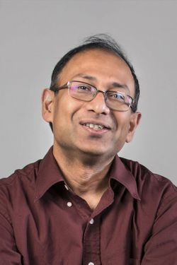 A portrait of Doctor Nanda Surendra.