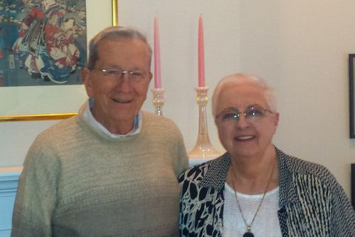 Dr. Bill Collins and wife, Karen.