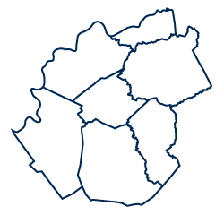 An image depicting the shape of the Mid-Ohio Valley region.