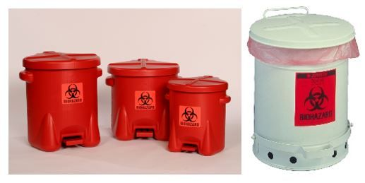 Examples of Biohazard Containers