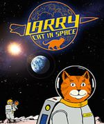 Larry Cat in Space show poster