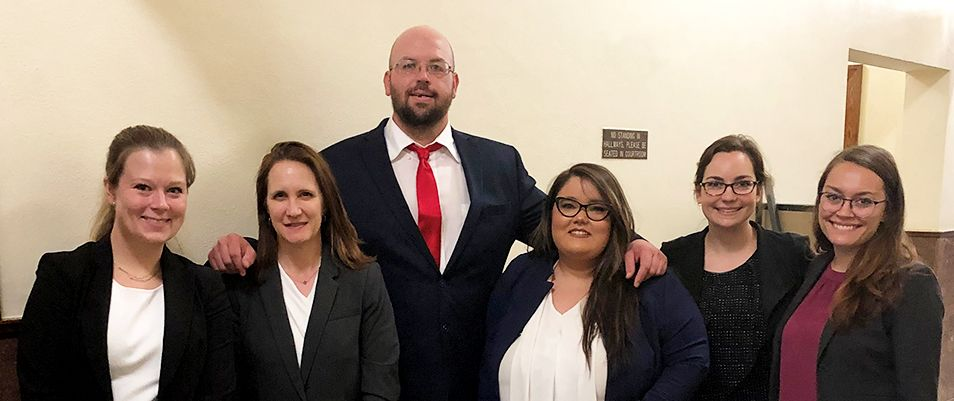 WVU Law WV Innocence Project Nathaniel Barnett team