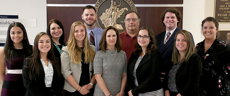 WVU Law Members of the West Virginia Innocence Project Law Clinic, 2019-20