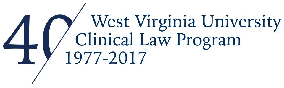 WVU Law 40th Anniversary of the law clinics