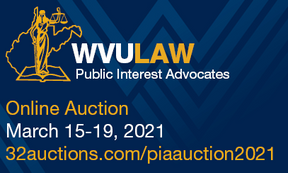 WVU Law PIA Auction March 15-19, 2021