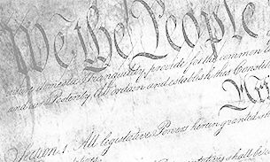 WVU Law Constitution We the People cropped artwork
