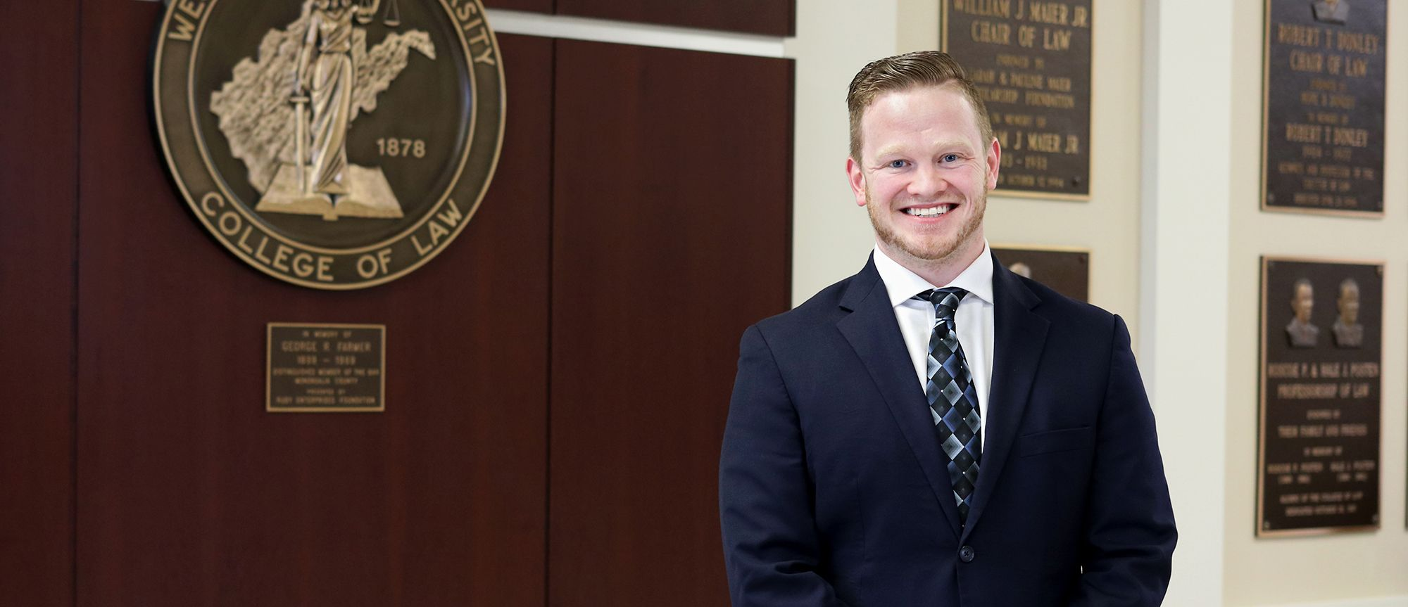 WVU Law student Mitch Moore '19
