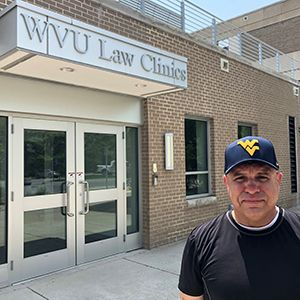 WVU Law veterans clinic client McCloud