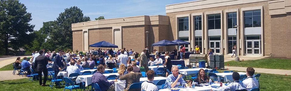 WVU Law Event Hall Courtyard
