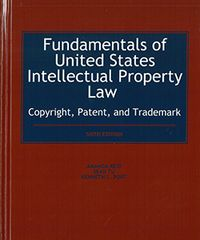 Book cover for Fundamentals of United States Intellectual Property Law