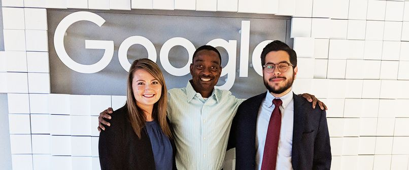 WVU Law Google Interns with Ola Adekunle
