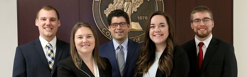WVU Law 2019 National Moot Court Team
