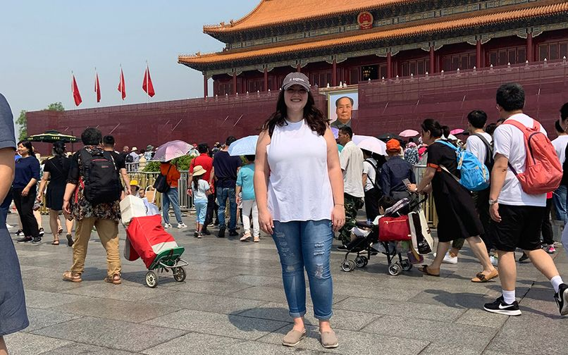 WVU Law - Emily Cramer '20 in China