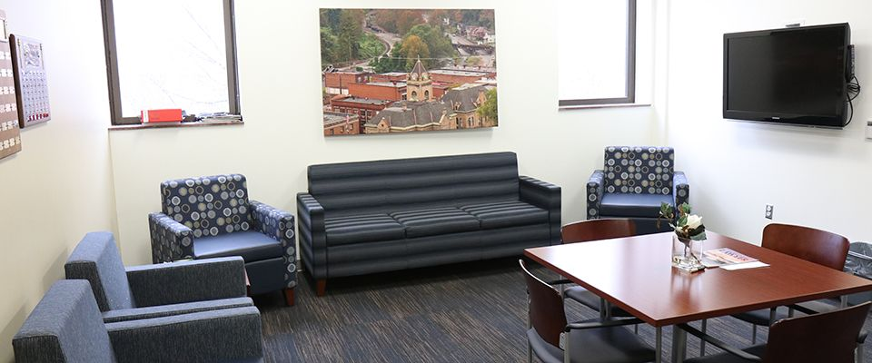 WVU Law Student Lounge
