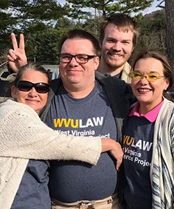 WVU Law - Joseph Lavigne and family