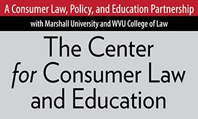 WVU Law Center for Consumer Law and Education logo
