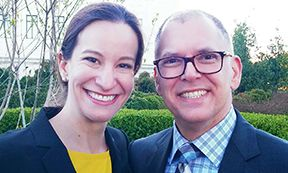 Jaci Gonzales Martin and Jim Obergefell