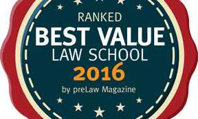 WVU Law 2016 Best Value