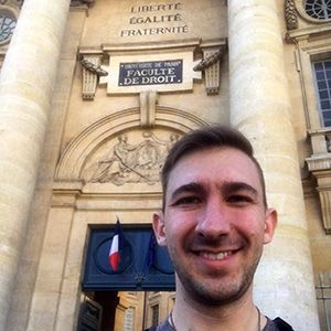 WVU Law - Ron Walters '18 in Paris
