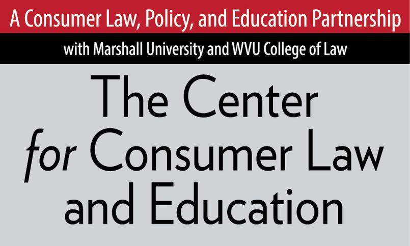 WVU Law - Center for Consumer Law and Education logo