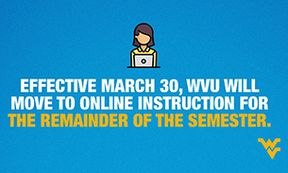 WVU COVID-19 Online Instruction All Classes