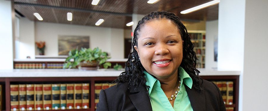 WVU Law student Candice Isaac
