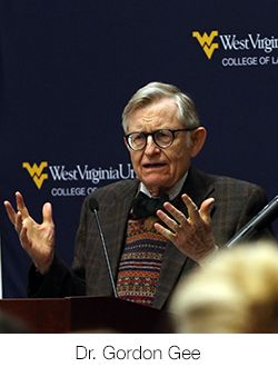 WVU Law President Gordon Gee