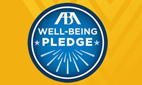 WVU 2019 ABA Well-Being Pledge Badge