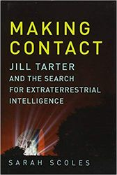 """Making Contact"" book cover by Sarah Scoles"